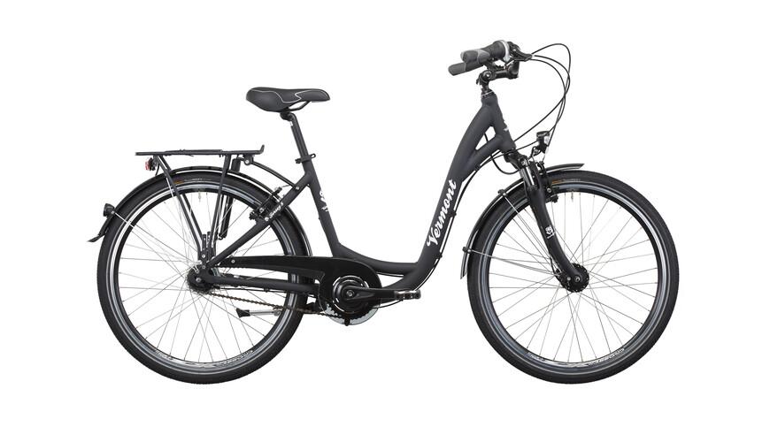 """Vermont Jersey 8 - Vélo de ville homme 26"""" - noir"""